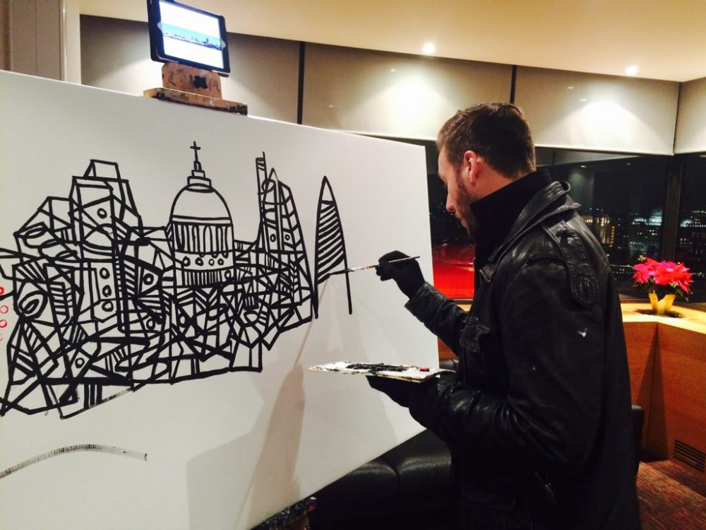 ITV London Live Painting