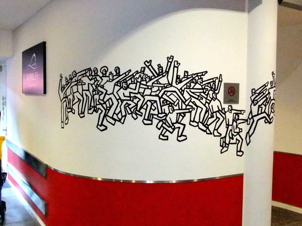 Wembley Stadium Mural One