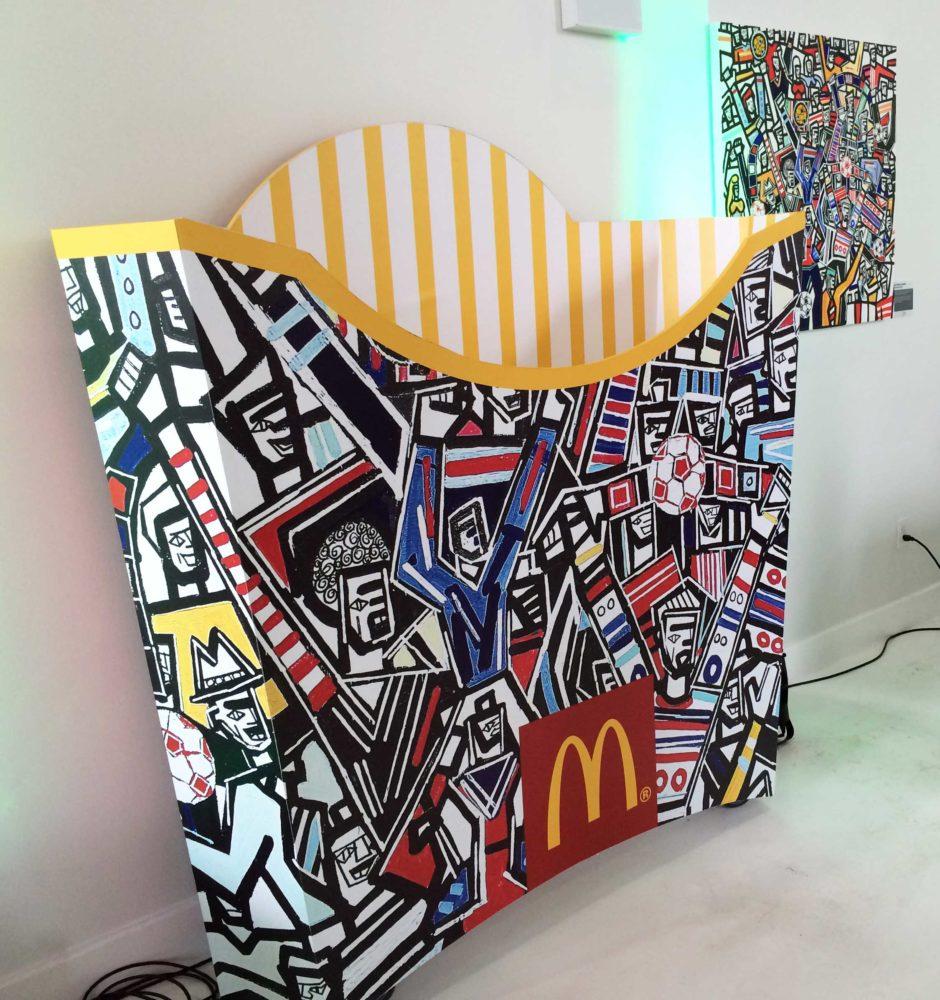 McDonald's Fry Box