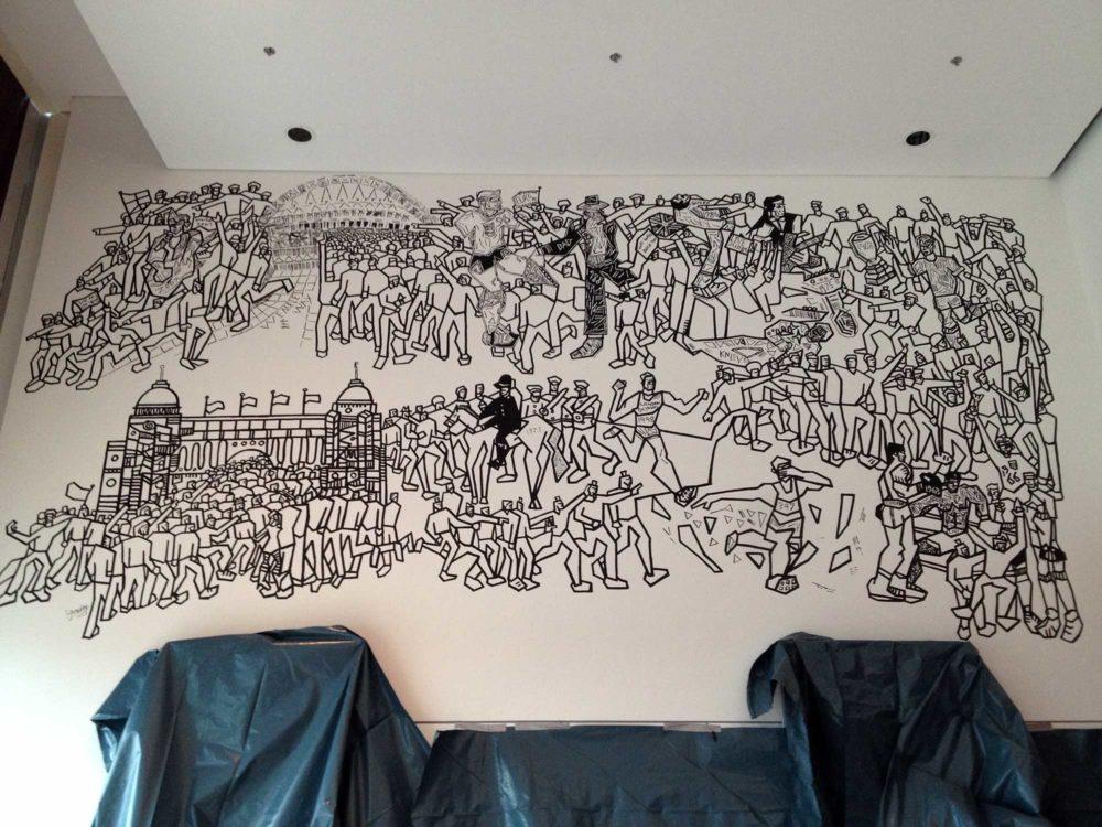 Wembley Stadium Mural Two